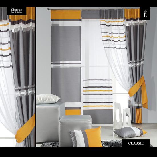 zasłona- CLASSIC 50/7, ekran- 49/org/b + żółty