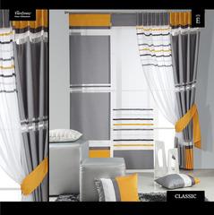 zasłona- CLASSIC 50/7, ekran- 49/org/b + żółty -