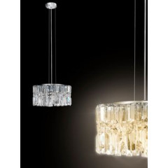 Lampa FANCY - 30 X 20 X 17 X 120 cm - chrom 4